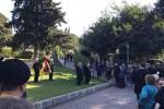 Corona di fiori e corteo in via Libertà, Palermo ha ricordato i martiri della Resistenza