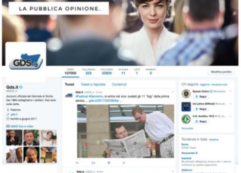 Dalle 19.30 diretta Facebook del Giornale di Sicilia per scoprire il quotidiano di domani