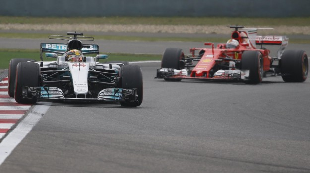 Ferrari, formula uno, gp cina, Gran Premio, Mercedes, Lewis Hamilton, Sebastian Vettel, Sicilia, Sport
