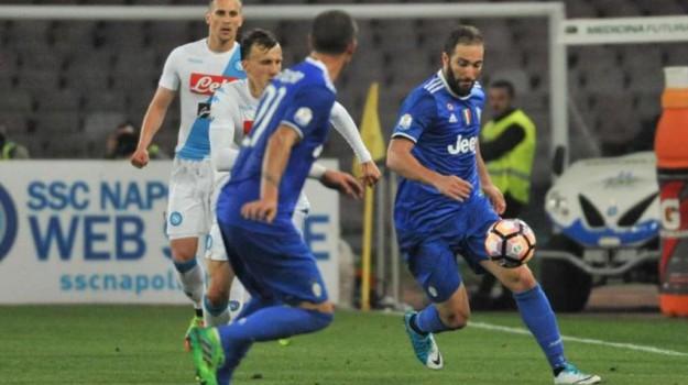 Calcio, coppa italia, napoli-juventus, Sicilia, Sport