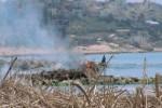 Notte di fuoco a Scicli, bruciati 5 cassonetti dei rifiuti