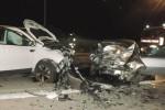 Scontro frontale a Ragusa, 3 feriti: uno è grave