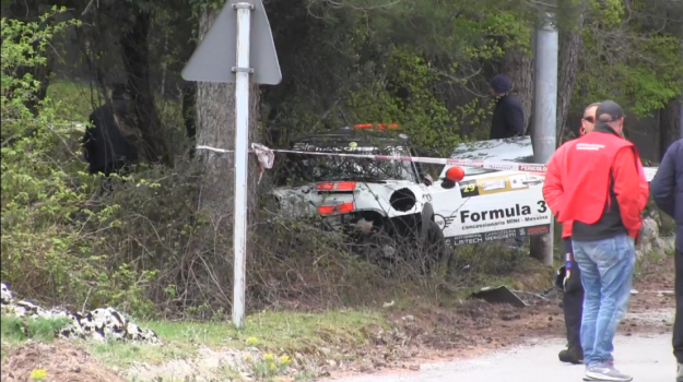 due morti, incidente, Messina racing team, rally, Rally del Tirreno, targa florio, Gemma Amendolia, Mauro Amendolia, Palermo, Cronaca