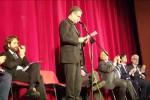 Lorefice apre il confronto tra i candidati sindaco e si commuove citando Pino Puglisi - Video