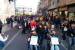 """A Palermo la marcia dei disabili, con loro Lorefice: """"Diamo voce a chi non ne ha"""""""