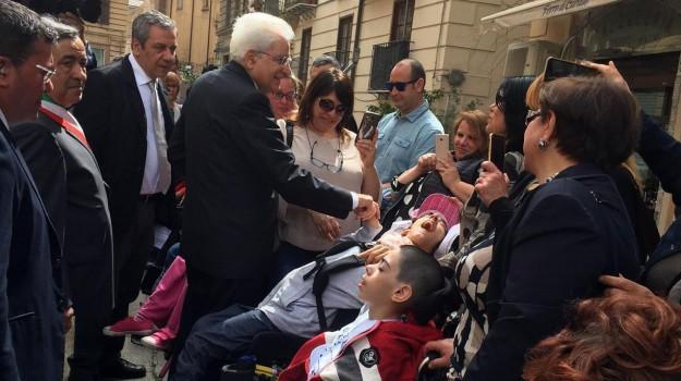 disabili, presidente della Repubblica, Palermo, Cronaca