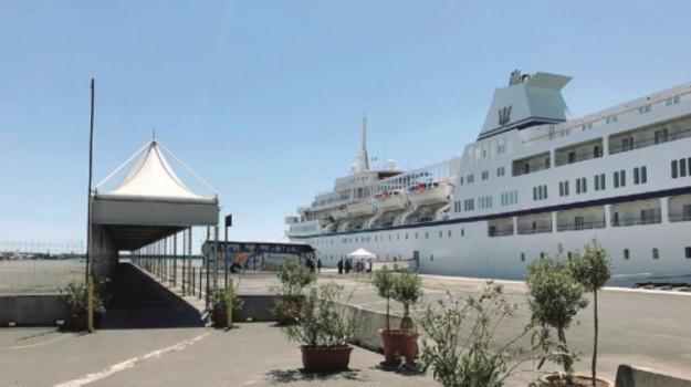 catania, nave, porto, Catania, Economia