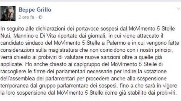 firme false, m5s, Beppe Grillo, Riccardo Nuti, Sicilia, Politica