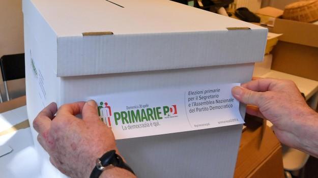 pd, primarie, sereteria, Andrea Orlando, Matteo Renzi, Michele Emiliano, Sicilia, Politica