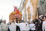 Il Nazareno sulla barca dà il via ai riti della Settimana Santa a Caltanissetta