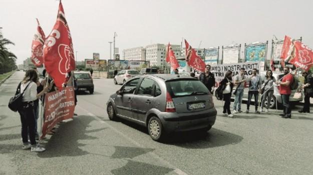 call center, protesta, Siracusa, Cronaca