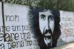 Erice, realizzato un murales dedicato al giornalista Rostagno