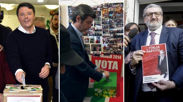 Palermo, pd, regione sicilia, segreteria pd, Andrea Orlando, Matteo Renzi, Michele Emiliano, Sicilia, Politica