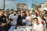 La Sicula Leonzio in Lega Pro, festa tra palloncini e invasioni di campo