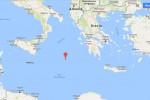Terremoti, scossa di magnitudo 4,5 nel mar Ionio tra la Sicilia e la Grecia