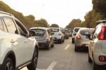 Controesodo, lunghe code per il rientro a Palermo: le immagini dall'autostrada - Video