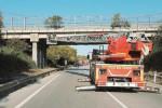 Calcinacci dal viadotto Maddalusa, eseguiti i lavori: non verrà chiuso