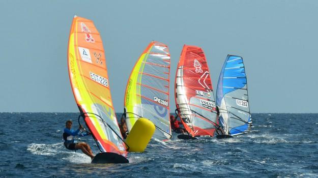 classe olimpica, coppa italia, vela, windsurf, Palermo, Sport