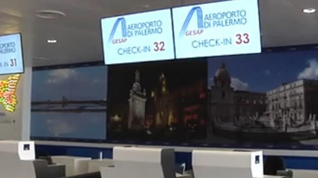 Sala Fumatori Aeroporto Palermo : Falcone borsellino si inaugura nuova area check in dellaeroporto