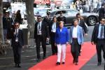 Dalla Merkel a Gentiloni: le prime foto dal G7 di Taormina