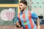 Il Catania si consola, Russotto: è solo l'inizio