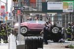 Auto sulla folla a Times Square, le prime immagini da New York
