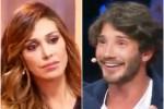 """Belen in tv dà ragione a Stefano, lui ci scherza su: """"E' la prima volta"""""""