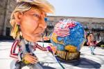 """G7 di Taormina, la politica incontra la satira: ad Acireale le caricature dei """"Grandi della Terra"""""""