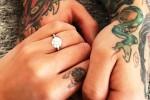 Sui social l'anello con cui Fedez ha chiesto alla Ferragni di sposarlo