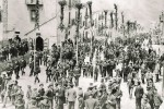 Festa dei rami a Troina in una foto d'epoca