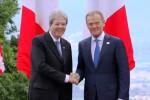 G7, Gentiloni fa gli onori di casa: il video dal teatro greco di Taormina