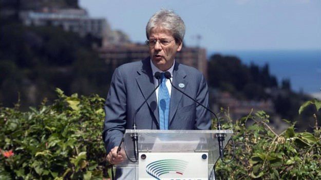 G7, taormina, Paolo Gentiloni, Sicilia, Politica