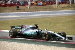 Gp di Spagna, vince Hamilton. Vettel secondo, fuori Raikkonen