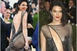 Kendall Jenner, nude look da urlo: la sorella(stra) di Kim Kardashian così sul red carpet