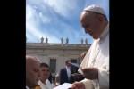 Partita della Vita a Palermo, l'invito a Papa Francesco