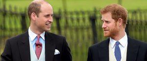 """I principi Harry e William smentiscono: """"Niente veleni fra noi"""""""