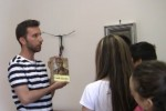 Studenti visitano i luoghi del beato Puglisi