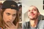 """""""Magari ci fidanziamo..."""", in tv la dichiarazione d'amore della catanese Tea Falco a Valentino Rossi"""
