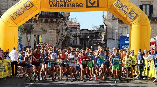 atletica, corsa su strada, podismo, Trofeo Carnevale di Acireale, Universitas Palermo, Catania, Sport
