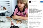Il figlio di Wanda Nara indossa la maglia del Palermo: ironia sul web