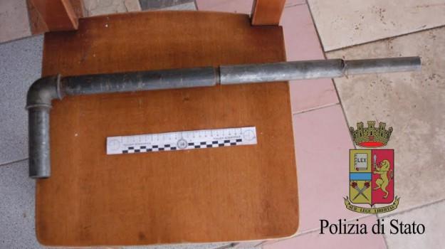 arma, enna, Piazza Armerina, polizia, Enna, Cronaca
