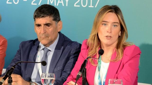 g7 taormina, Maria Elena Boschi, Sicilia, Politica