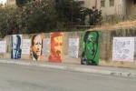 Calatafimi, murales con i volti simbolo della legalità