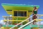 L'ex velina Costanza Caracciolo sexy sotto il sole di Miami - Foto