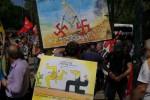 """""""No alla militarizzazione della Sicilia"""": gli antagonisti contro il G7 - Le foto dal corteo"""