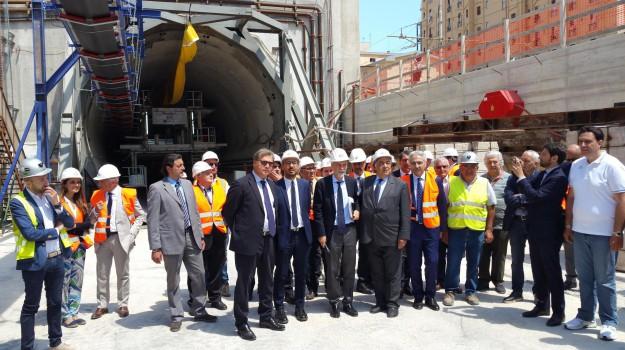 infrastrutture, passante ferroviario, Graziano Delrio, Palermo, Economia