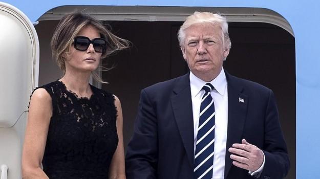 g7 taormina, Donald Trump, Melania Trump, Sergio Mattarella, Sicilia, Cronaca