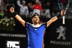 Fognini show a Roma con Murray La Sharapova si ritira per infortunio