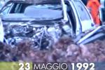 Torna a Palermo l'auto della scorta del giudice Falcone - Video