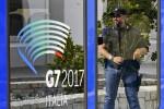 Arrivano da Acireale le caricature di cartapesta dei leader mondiali del G7 di Taormina